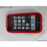Protective Silicone Case for 3G/3GS (Red)