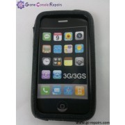 Protective Silicone Case for Apple iPhone 3G/3GS (Black)