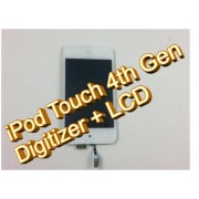 iPod Touch 4th Gen Digitizer + LCD Assembly WHITE