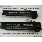 Playstation 3 (PHAT) AC-inlet Replacement