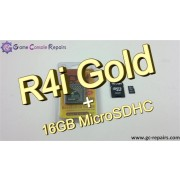 R4i Gold 3DS Flash Card &amp; 16GB MicroSDHC Combo