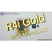 R4i Gold 3DS Flash Card & 32GB MicroSDHC Combo