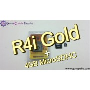 R4i Gold 3DS Flash Card & 4GB MicroSDHC Combo
