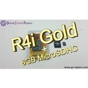 R4i Gold 3DS Flash Card & 8GB MicroSDHC Combo