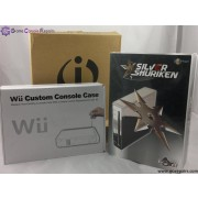 Wii Custom Housing Solid Red with Stand