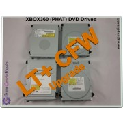 XBOX360 (PHAT) Drive Flashing  UPGRADE Service - All Models 