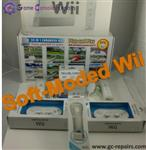 Premoded - Soft-Moded Nintendo Wii, USB Hard Drive & Many Accessories