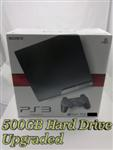 Sony PS3 Console Package - 500GB Hard Drive Upgraded