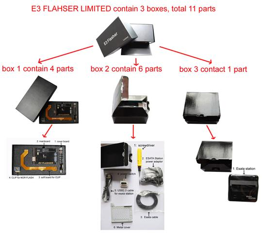 E3 Flasher 11 Accessories Limited Edition