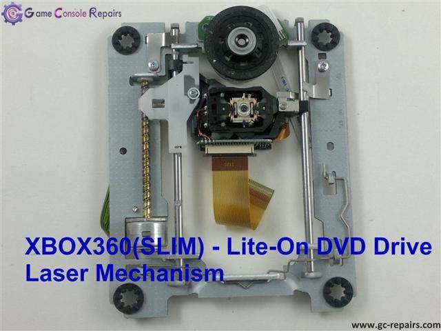 xbox360 slim liteon DVD Drive Laser Mechanism