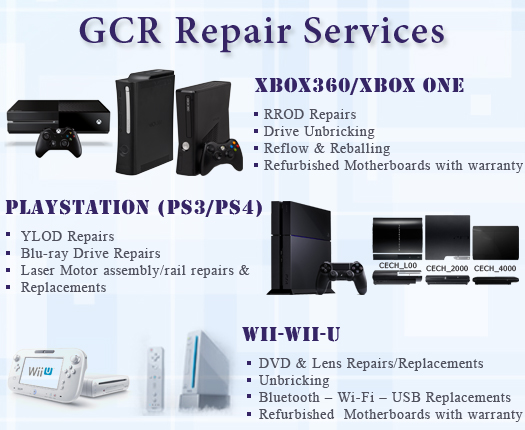 GCR Repair Services