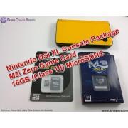 Nintendo DSi XL Console with M3i-Zero Card & 16GB MicroSDHC + All Basic Accessories