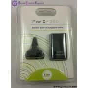 XBOX360 Play & Charge Kit (4800 mAh) Black