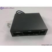 USB 2.0 high speed internal card reader (Black)
