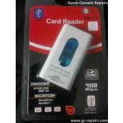 USB 2.0 SD/M2/MS/TF Card Reader - White