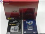 Nintendo 3DS Console with M3i-Zero Card & 16GB MicroSDHC + All Basic Accessories