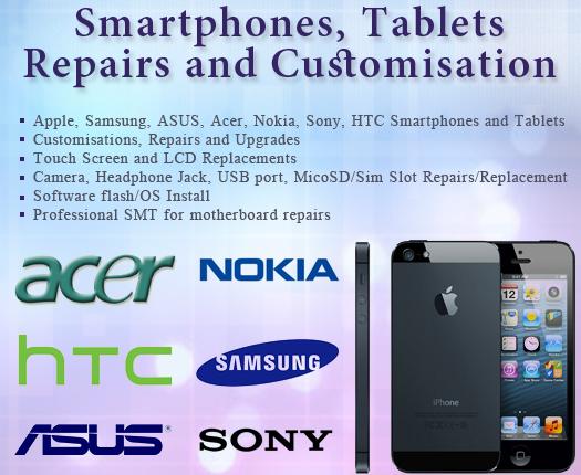 Smart Phones, Tablet, Repair